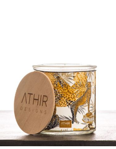 White Tiger candle
