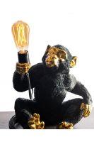 Black Monkey Lamp