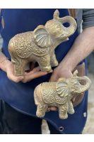 Gold Elephants